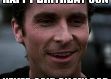 Funny Happy Birthday Son Memes - Happy Birthday Wishes, Messages & Greeting eCards